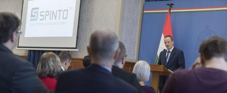 Miskolcon építi meg regionális jelentőségű szerszámgyárát a spinto*